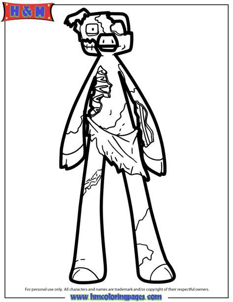 minecraft zombie pigman coloring pages   clip art  clip art  clipart