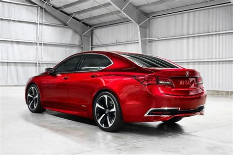 acura unveils   tlx prototype car body design