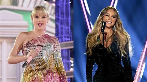 Taylor Swift's Reaction to Mariah Carey at 2019 Billboard ...