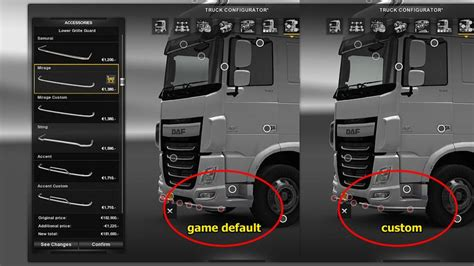 Light Bar Truck by Additional Customization Parts V6 1 Ets2 Euro Truck
