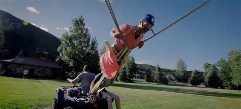 Video of the Day: Devin Graham's Human Slingshot (video)