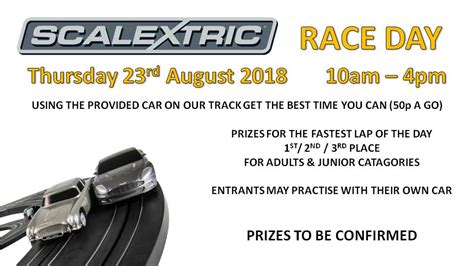 Scalextric Race Day - Event - Goole - East Yorkshire ...