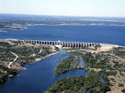 Buchanan Dam on Lake Buchanan in the Texas Hill Country