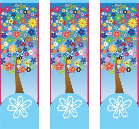 bookmark templates design  bookmarks  style