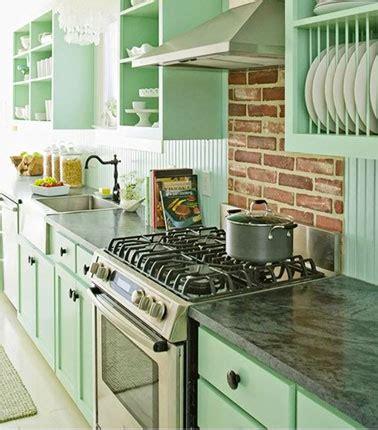 cuisine vert d eau couleur cuisine en total look vert d 39 eau