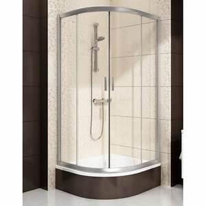 Paroi Baignoire D Angle : paroi douche d 39 angle pour bain douche sabina ~ Premium-room.com Idées de Décoration