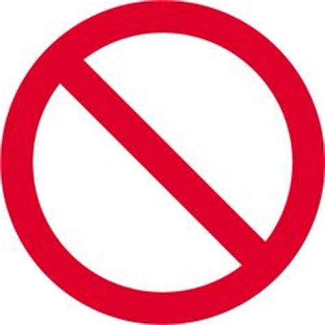 peel and stick vinyl pr058 prohibition circle sign