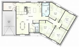 plan maison en v plain pied gratuit xo83 jornalagora With plan maison en v plain pied gratuit
