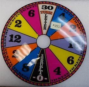 Wheel Of Fortune Ticket Redemption Arcade Machine Game