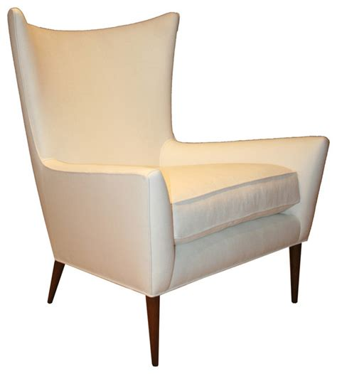 morton curved back wing chair midcentury armchairs and