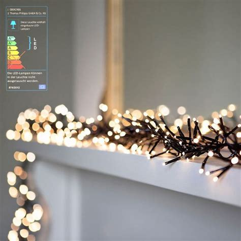 Deko Led Lichterkette by Led Cluster Lichterkette 768 Leds Philipps