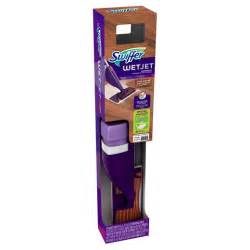 swiffer wetjet wood hardwood floor spray mop starter kit target
