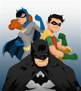 Batman Robin Batgirl