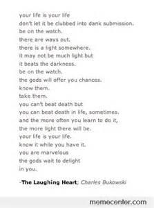The Laughing Heart Charles Bukowski Poem