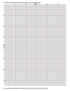 cross stitch grid  fill  printable