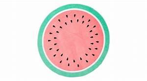 Serviette De Plage Ronde Coton : serviette de plage ronde accessoire incontournable de l 39 t maison cr ative ~ Teatrodelosmanantiales.com Idées de Décoration