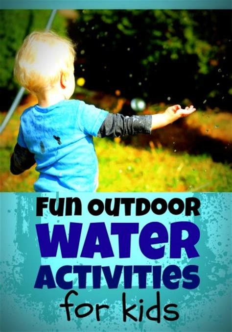 fun outdoor water play ideas  kids  dollar store