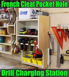Video: French Cleat Drill Charging Station - by JSB