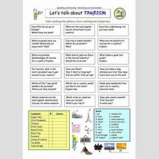 Let's Talk About Tourism Worksheet  Free Esl Printable Worksheets Made By Teachers