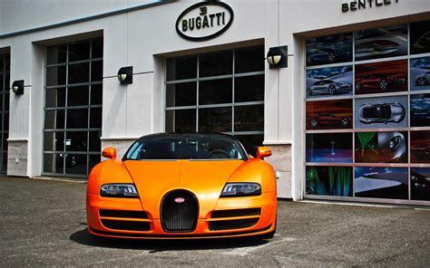 Bugatti Veyron Showroom Hd Wallpaper