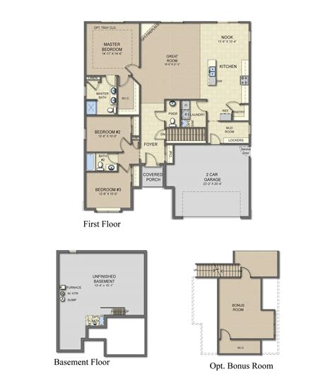 plot plans new homes for sale in howell mi albany home plan