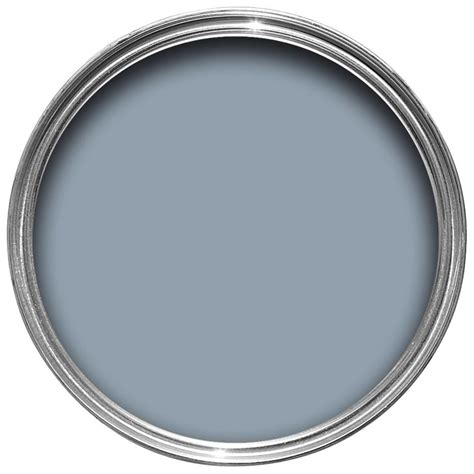 dulux made by me country blue satin gloss paint 750ml departments diy at b q home