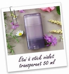 Sac À Main Transparent : etui stick violet transparent 50 ml aroma zone ~ Melissatoandfro.com Idées de Décoration