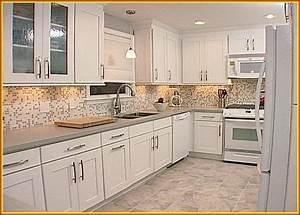 30 white kitchen backsplash ideas white kitchen With countertops and backsplashes for kitchens