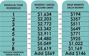 Food Stamp Benefit Chart What The Food Stamp Program Looks Like Now House Of Charity