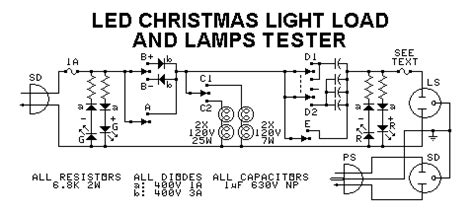 wiring diagram for string of christmas lights with led strings