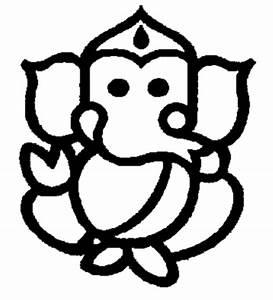 Ganesh Ji Outline - ClipArt Best