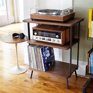 Meuble Platine Vinyle Vintage : kanso hi fi station d coration du nouvel appartement mobilier de salon vinyle et meuble ~ Teatrodelosmanantiales.com Idées de Décoration