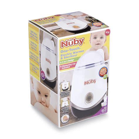 nuby natural touch basic bottle warmer sterilizer