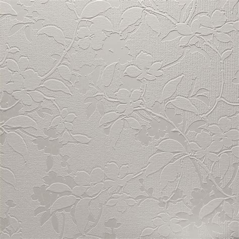 arthouse white textures aria floral leaf paintable