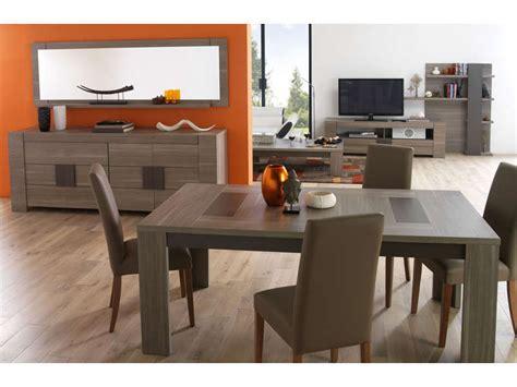table et chaises de cuisine conforama table rectangulaire 180 cm atlanta coloris chêne fusain