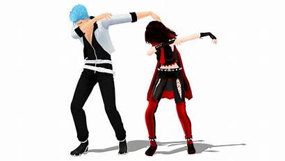 Dab Pose Mmd Dl Dance Deviantart Anime