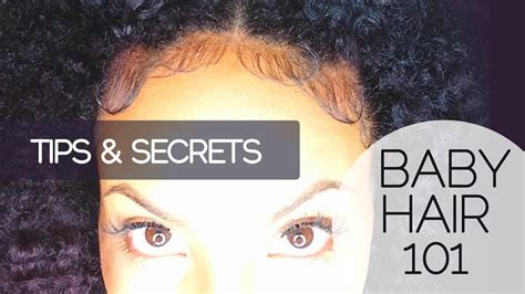 how to make baby hair baby hair 101 how to slick lay edges