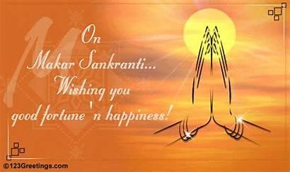 Pongal Happy Sankranti Makar Fortune Happiness Greetings