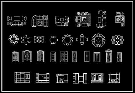 interior design 2d blocks cad library autocad blocks