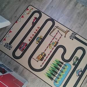 Tapis Enfant Route : tapitom tapis enfant circuit design 130 x 200 cm ~ Teatrodelosmanantiales.com Idées de Décoration