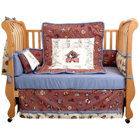 negro league 4 crib bedding set
