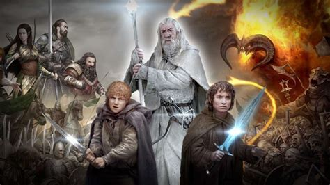 lord   rings legends  middle earth launch