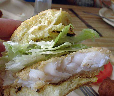 grouper fried sandwich wich week popsugar fish