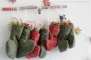 Calendrier De L Avent à Remplir Soi Meme : diy calendrier de l avent en chaussettes cousues ~ Melissatoandfro.com Idées de Décoration