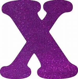 Glitter Foam Letter X | Walmart.ca