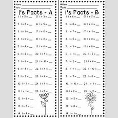 Fact Fluency Timed Tests Addition And Subtraction  Firstgradefacultycom  Math Fact Fluency