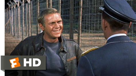 The Great Escape (111) Movie Clip  To Cross The Wire Is