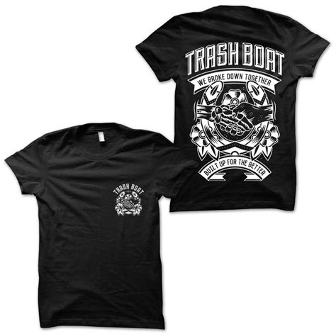 Trash Boat Store by Horseshoe Black Hlr0 Merchnow Your Favorite Band