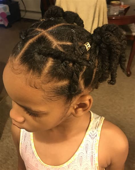 ponytails rubber bands kids hairstyles