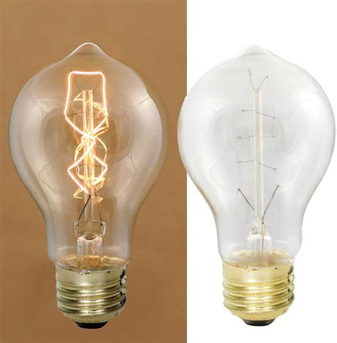 40 watt medium pear vintage style bulb designs